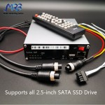 Highlight 4G Wifi SSD H.265 Vehicle Black box truck dvr for truck camera system with 4G WIFI RJ45 GPS