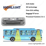 HPC168 3D Automatic passenger counting camera for bus