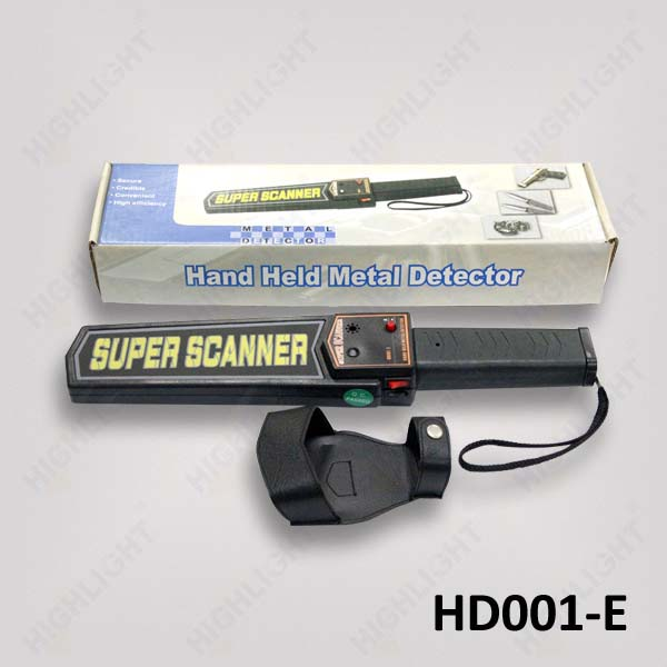 HD001-E Hand held Metal Detector