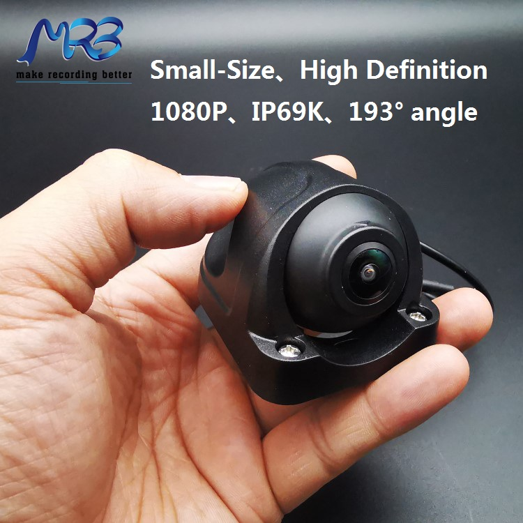 Highlight high-definition image quality IP69K  monitoring system 1080P Fisheye CCTV Camera for vehicle